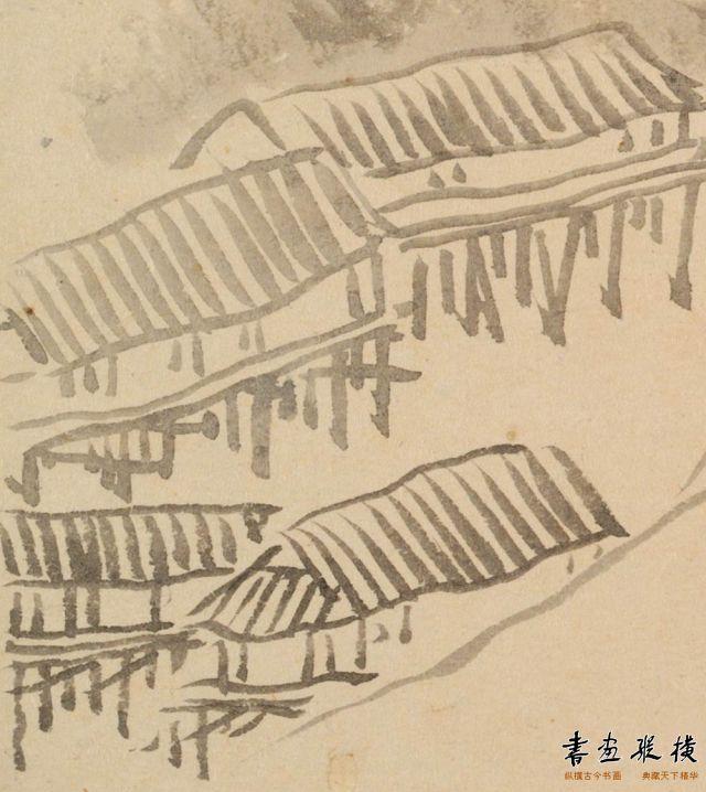 清 汪士慎 花卉山水图册页 局部