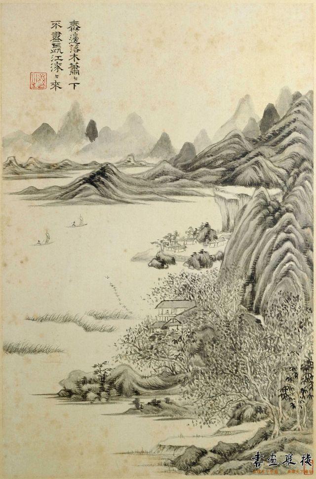杜甫诗意图册06