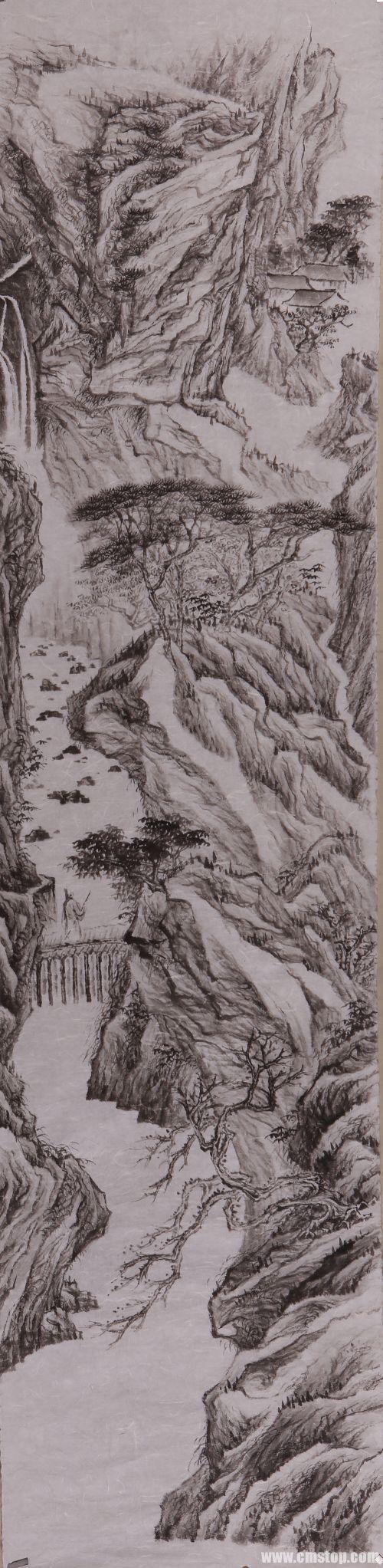 沃兴华绘画作品