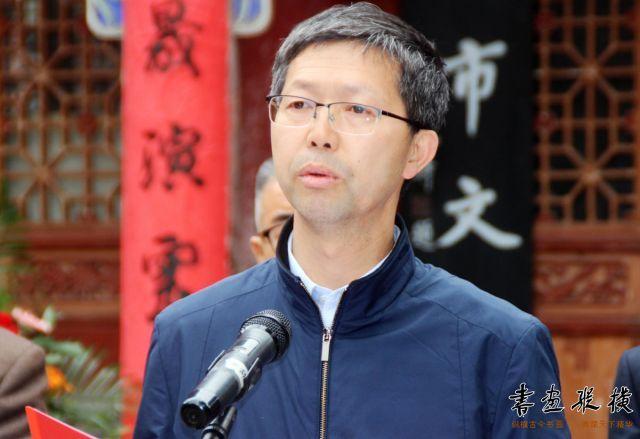 3 天水市副市长刘骁致词